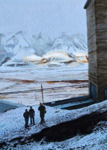 Mine Near Longyearbyen