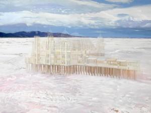 Afterimage of Saltair I(Great Salt Lake)